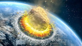 if Halley's comet hit earth...