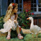 Vladimir Volegov - dzieci w malarstwie
