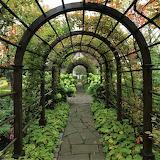 Garden arbor Orekhovno Estate Russia
