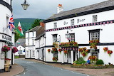 Wales, Crickhowell, The Bear Hotel