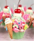 #Cone Cupcake