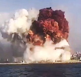 Beirut port - The terrible explosion