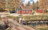 Fishing Cabin - Ken Zylla