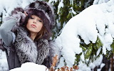 Foto en la nieve