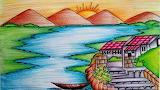 River Sun Art