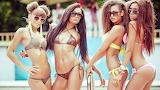 Four Bikinis