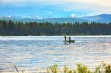 Fishing on Seeley Lake Montana