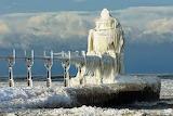 Puzzle st joseph lighthouse iced