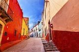 Guanajuato, colored, houses