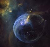 Bubble Nebula, Hubble