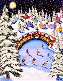 #Winter Folk Art by Renie Britenbucher
