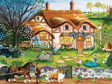 Cottage Garden - Cindy Mangutz