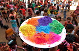 ☺ Kids celebrating Holi in India...