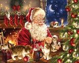 Christmas Kittens sm