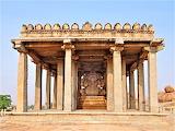 Sasivekalu temple de Ganesha Hindu Hampi India