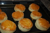 Food - Cheese Scones fresh from the oven