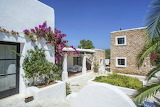 Beautiful white villa and garden in Ibiza