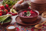 Everything you need for a red borscht