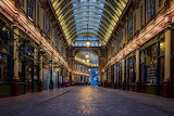 Leadenhall Market of Harry Potter fame