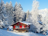 Winter Holiday House In The Swiss Alps