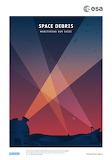 """Space ESA Poster """"Space Debris"""" """"© ESA"""""""