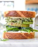 Cream cheese veggie sandwich