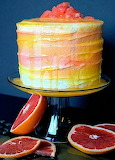 Grapefruit cake @ Unmasked Adventures