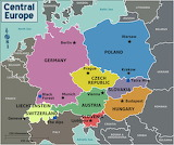 Central Europe - countries