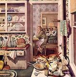 Cucina da pulire