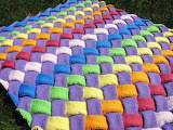 ^ Woven knitted blanket