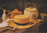 Van Gogh, Stillleben mit gelbem Strohhut, ca 1885