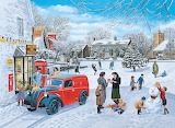A Village Christmas - Trevor Mitchell