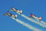 YAK-52 Aerobatic Team at Oshkosh 2011