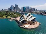 Opera House and City of Sydney Australia