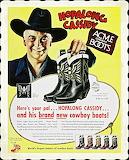 Hopalong Cassidy Boots Ad