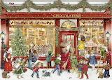 the christmas chocolate shop