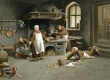 La cucina del convento