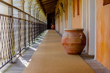 Corridor With Clay Pots