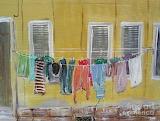 ^ City Life Laundry Day ~ Gerald Rader