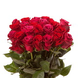 ^ Bouquet of red roses