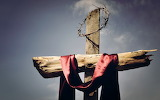 Jesus-defeated-death-easter-cross-crown of thorns