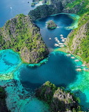 Philippines,Kayangan Lake, Palawan,