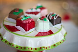 ^ Christmas Petit Fours
