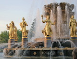 Friendship Fountain, Moscow
