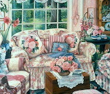 Cottage Living Room by Susan Rios