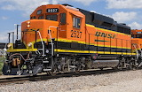 Burlington Northern Santa Fe Railway GP39-3