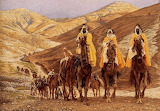 The Journey of the Magi ~ James Tissot, 1894
