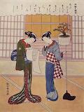 Две женщины на веранде