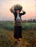 The Shepherd's Star. Jules Breton