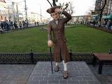 "Kaliningrad, The statue of ""Kind Kant"""